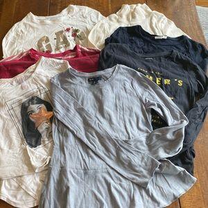 Gap T-shirts bundle